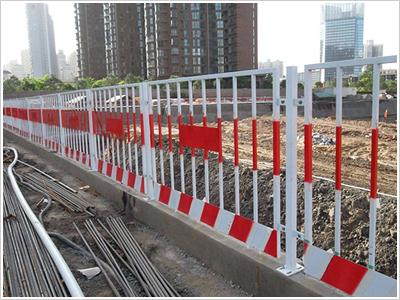 青海基坑护栏竖杆
