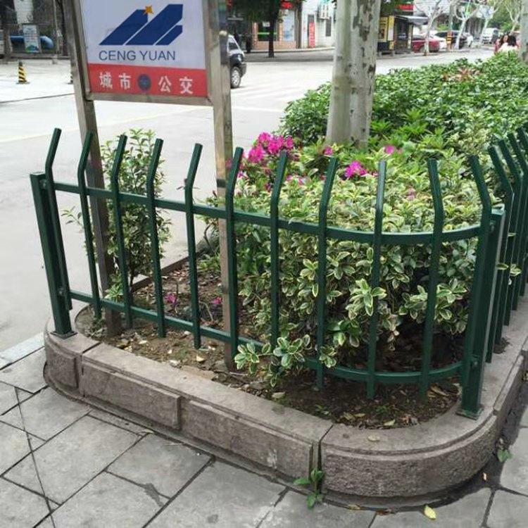 青海花池护栏(绿色弯头)