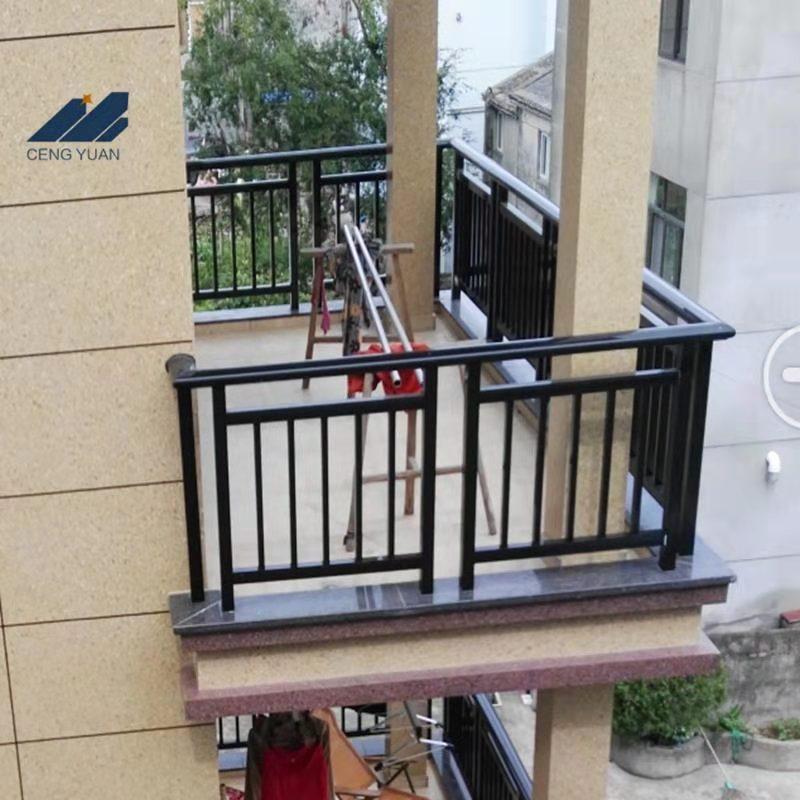 阳台围栏安装效果图--1