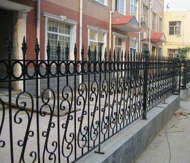 铁艺围栏图片--3