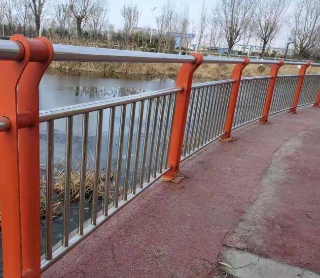 不锈钢复合管护栏图片--4