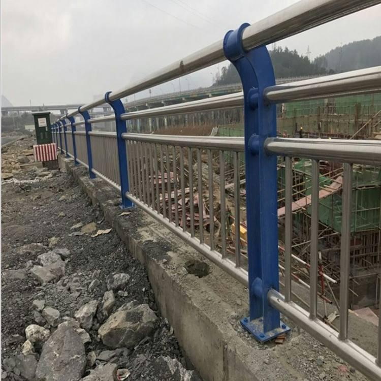 河道栏杆图片--2
