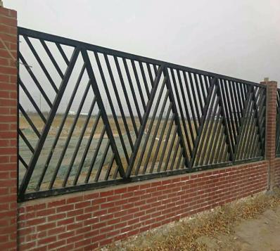 铁艺围栏图片--2