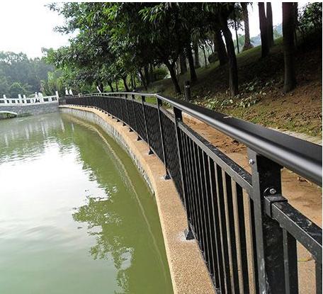 河道栏杆图片--4