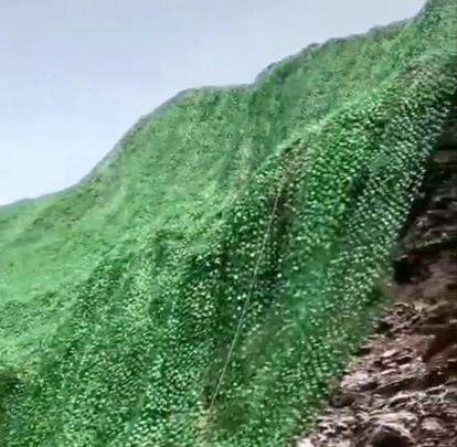 矿山修复绿叶网