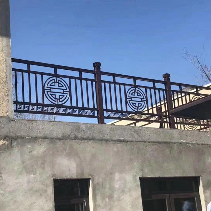 露天阳台护栏图片--2